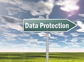 data protection sign