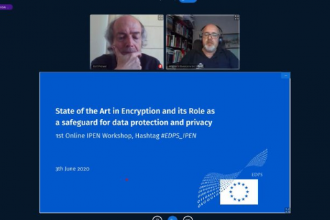 1st Online IPEN Workshop with Supervisor Wiewiórowski on the State of the Art in Encryption and its Role as a safeguard for data protection and privacy