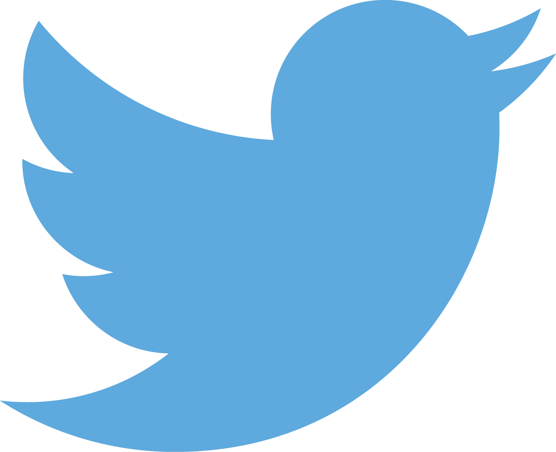 Twitter blue bird logo